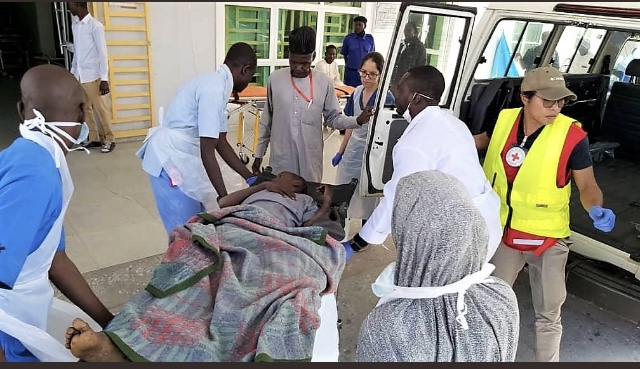 Monguno Attack: ICRC evacuate 10 wounded civilians