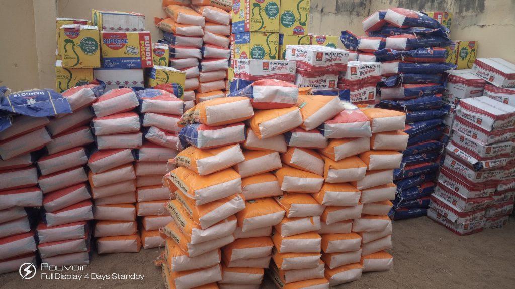 Adamawa Lockdown: Namdas Set The Pace, Distribute Food Stuff to Constituents