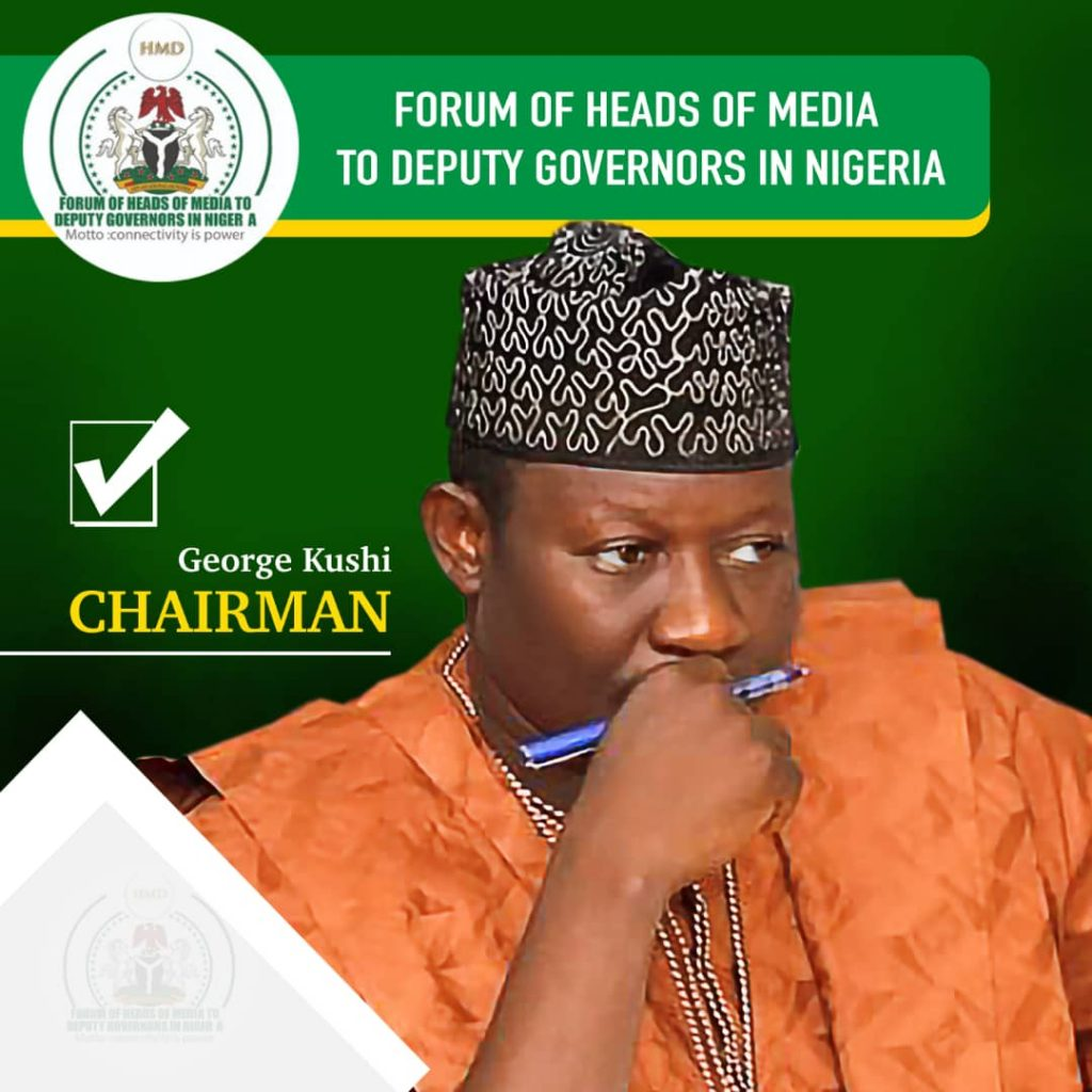 George Kushi Emerges As Chair Forum Of Media Heads To Deputy Governors In Nigeria