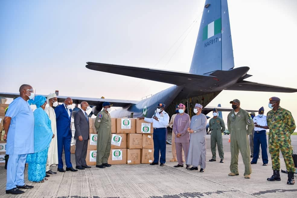 COVID-19: NAF Commences Airlift of Medical Materials to 14 ECOWAS Countries