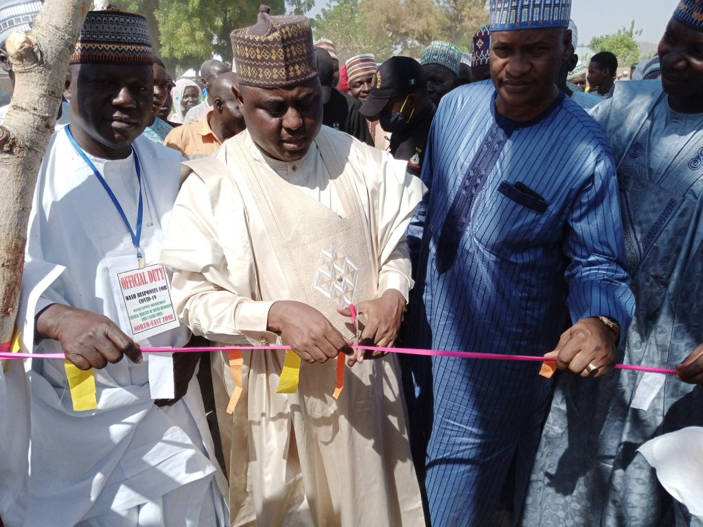 Namdas Commissions Motorized Boreholes in His Constituency