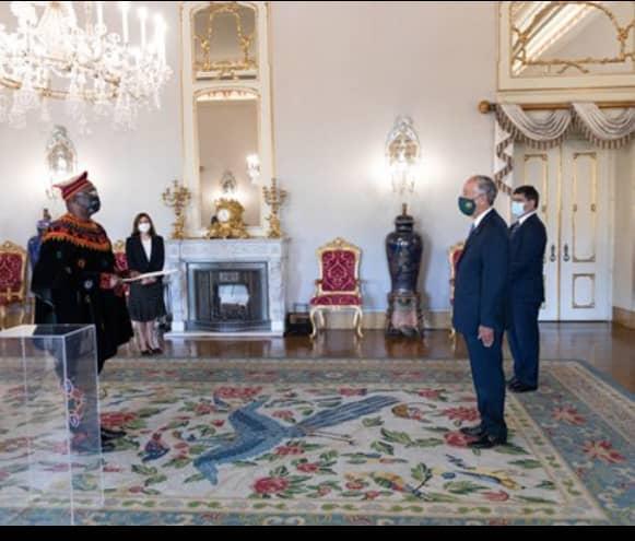 Ambassador Kefas Presents Letter of Credence to President Marcelo of Portugal